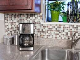 kitchen backsplash tiles peel and stick self adhesive backsplash tiles hgtv