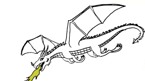 dragons for children how to draw a flying in easy steps for children kids
