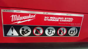 Milwaukee Cabinet Milwaukee 30