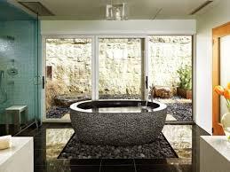 river rock bathroom ideas how to use river rock tile in bathroom design 19 great ideas