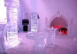 Hotel De Glace Hotel De Glace Ice Hotel In Quebec
