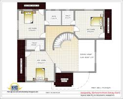 house design plans 3d 3 bedrooms 3d layout of 1000 sq ft house with single floor plan kerala