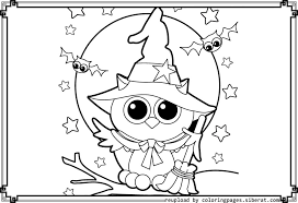 Cute Halloween Coloring Pages Getcoloringpages Com Coloring Pages Owl