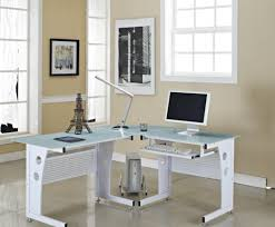 Glass Top Desk With Keyboard Tray Amiable Photo Deep Desk Pretty Amish Roll Top Desk Ideal Big