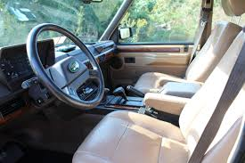 blue range rover interior 1991 range rover for sale