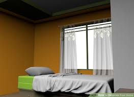 How To Decorate Your Bedroom With No Money How To Decorate Your Home 10 Steps With Pictures Wikihow