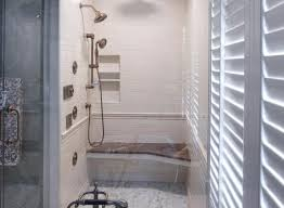 shower temp small corner tub shower combo mindsight tub and