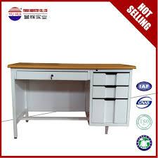office desk adjustable height luoyang cold rolled steel office desk metal frame office table