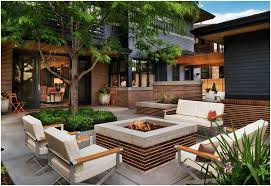 Concrete Backyard Ideas Concrete Backyard Design Backyards Wonderful Brick Patio Design