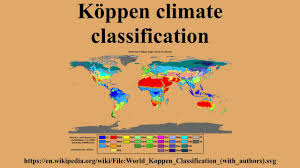 Climate World Map by