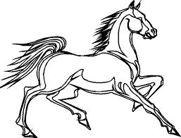coloriage dans la ferme chevaux 4 à colorier allofamille