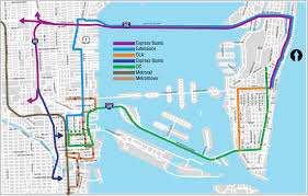 Miami Neighborhoods Map by Transit Map The New Tropic