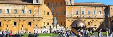 cortile della pigna cortile della pigna in the vatican museums in rome