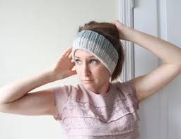knitted headband two tone easy knitted headband allfreeknitting