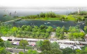 memphis waterfront redesign by studio gang revealed curbed