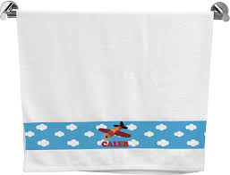 airplane bath towel personalized potty training concepts