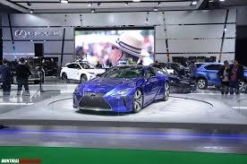 lexus used montreal photos toyota lexus at the 2017 montreal auto show