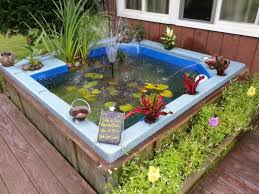 upcycled broken tub into a fish pond our best tips