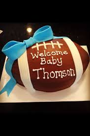 football baby shower football themed baby shower cake well i certainly cant make it