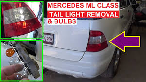mercedes light replacement mercedes w163 light replacement light bulb rear turn