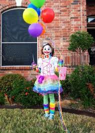 Scary Halloween Clown Costumes Scary Ringmaster Clown Haunted House Hayride