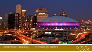 mercedes dome orleans the energy in the dome is contagious i how they added