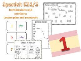 primary spanish resources greetings