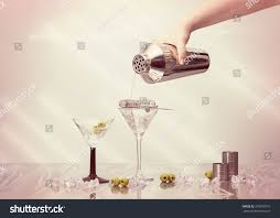 martini shaker clip art pouring cocktail drink shaker into art stock photo 378078751