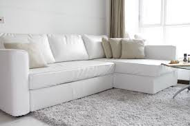 White Curved Sofa by Furniture Have Comfortable And Stylish Seating Available With