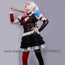 union city halloween carnival aliexpress com buy batman arkham asylum harley quinn halloween