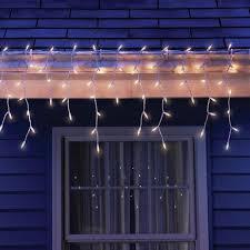 sylvania 300 light clear icicle lights shopko