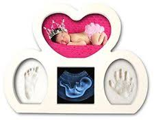 pearhead babyprints handprint or footprint keepsake ornament