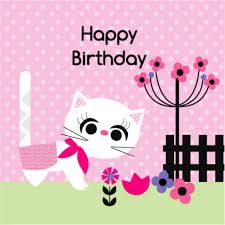 happy birthday cat card gangcraft net