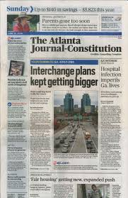Gatech Map Ajc Plans Grow For Atlanta U0027s Ga 400 Interstate 285 Interchange