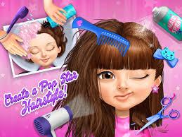 sweet baby pop stars superstar salon u0026 show android apps