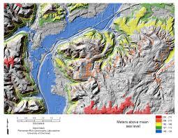 Map Of Cincinnati Cincinnati Area Elevation Distribution