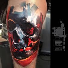 colored skull best design ideas