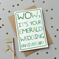 55th wedding anniversary special wedding anniversary card by catherine designs