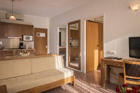 one bedroom apartment bio suites hotel in rethymnon crete