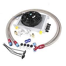 oil cooler fan kit gowe 30 row an 10 an universal engine oil cooler kit filter kit