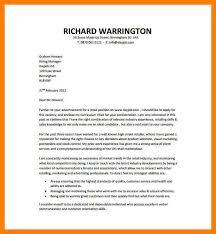 10 example cover letter for job informal letters