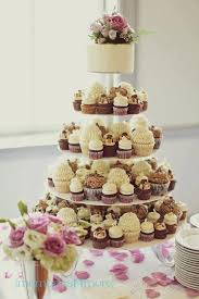 wedding cake cupcakes mini cupcake wedding cake