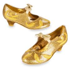 belle deluxe costume shoes for kids live action film shopdisney