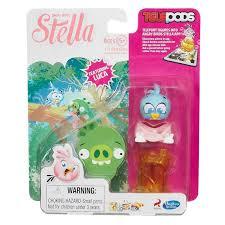 angry birds stella telepods luca bird figure toys