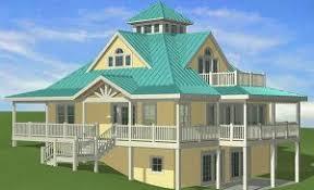 hillside home plans hillside house plans southern cottages