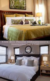 bed pillow ideas king bed pillow arrangement ideas www meadowlakeroad com diy