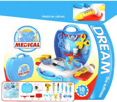 4 set simulation builders role play tool kit children kids cosplay