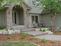 how lay front sidewalk landscaping ideas u2014 porch and landscape ideas
