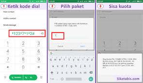 kode kuota gratis telkomsel cara cek sisa kuota internet nelpon pulsa sikatabis com