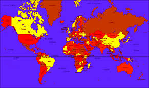 Global Time Zone Map Incorrect Wrong Geographical Area Distribution In Popular World